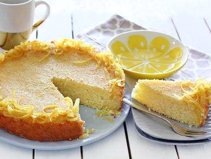 עוגת סולת לימונית