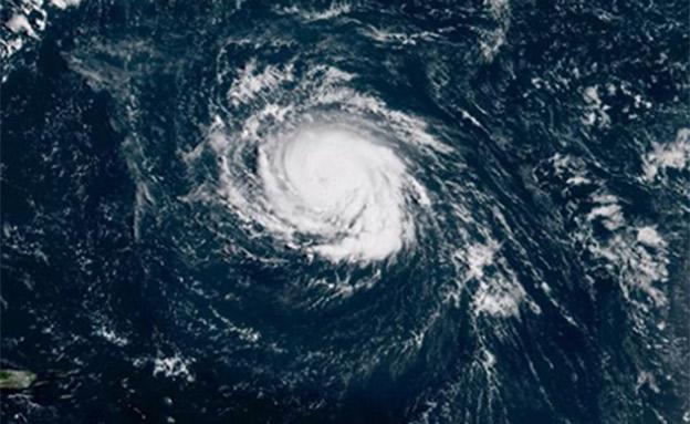 הוריקן פלורנס (צילום: CNN, חדשות)