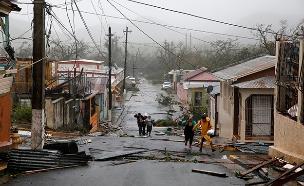 חילוץ בפוארטו ריקו (צילום: רויטרס, חדשות)