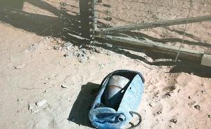 נטרול מטען בגבול רצועת עזה (צילום: דובר צהל, חדשות)