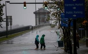 הוריקן פלורנס (צילום: רויטרס, חדשות)
