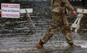 הוריקן פלורנס (צילום: sky news, חדשות)