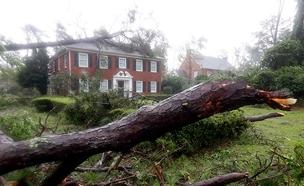 הרס מהוריקן פלורנס (צילום: AP, חדשות)