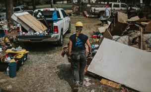 ישראייד ביוסטון - הוריקן הרווי (צילום: israAID)