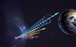 אותות רדיו בחלל (צילום: TheSciencePlug, twitter)