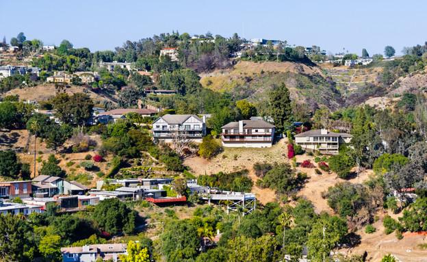 שכונת בל אייר בלוס אנג'לס (צילום: By Dafna A.meron)