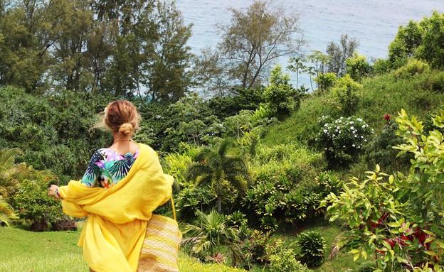 ביונסה בחופשה בקאריביים (צילום:  Photo by Flash90)