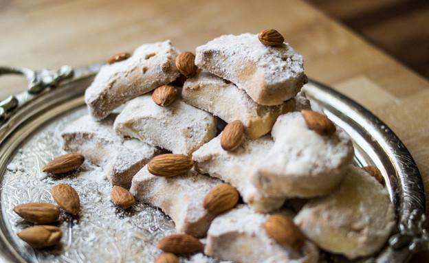 עוגיות קורבייה (צילום: Alp Aksoy, Shutterstock)