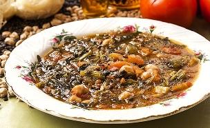 מרק חרירה אלג'יראי (צילום: אסף אמברם, אוכל טוב)