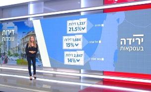 צפו בניתוח: ירידה במכירת הדירות בארץ (צילום: החדשות)