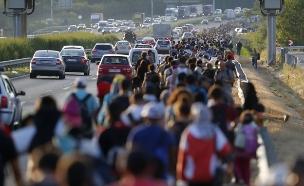 """משבר הפליטים הגדול מאז מלחה""""ע ה-2 (צילום: רויטרס, חדשות)"""