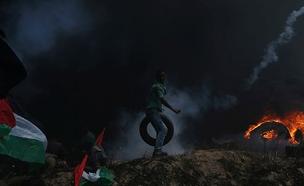 הפגנה בגבול עזה, ארכיון (צילום: רויטרס, חדשות)