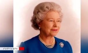 """הצלם הרשמי של המלכה אליזבת' עשה עליה (צילום: מתוך """"חדשות הבוקר"""" , קשת 12)"""