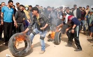 מהומות בגבול עזה, ארכיון (צילום: רויטרס, חדשות)