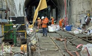 עבודות הרכבת הקלה (צילום: החדשות)
