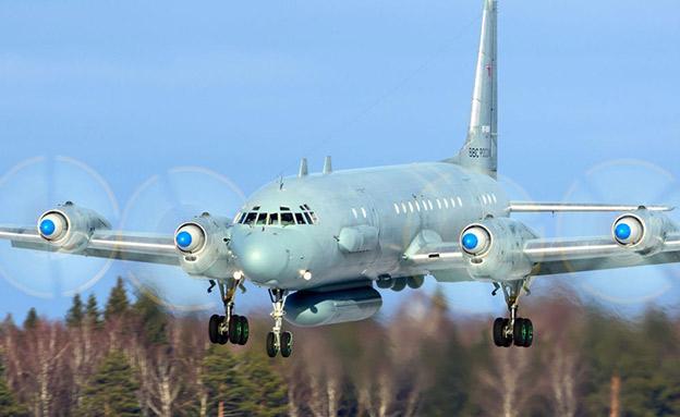 המטוס הרוסי שהופל (צילום: סקי ניוז)