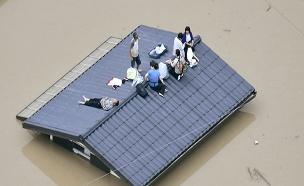 הצפות ביפן (צילום: רויטרס, חדשות)