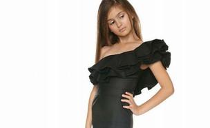 שמלה מחטבת (צילום: פזית גואטה)