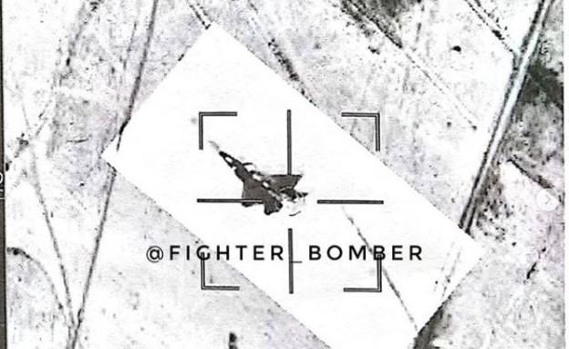 F-22 סוחוי 35 (צילום: אינסטגרם)