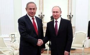 פגישת ביבי נתניהו פוטין רוסיה (צילום: רויטרס, חדשות)