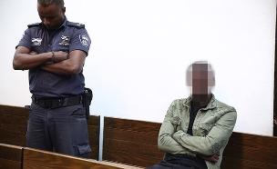 הנהג בהארכת המעצר (צילום: Miriam Alster, Flash90, חדשות)