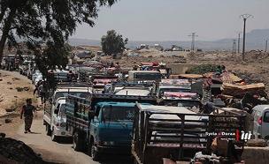 מיליוני סורים ברחו ממולדתם, ארכיון (צילום: Nabaa Media, AP, חדשות)