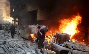"""""""הפצצות ללא הבחנה"""". ארכיון (צילום: רויטרס, חדשות)"""