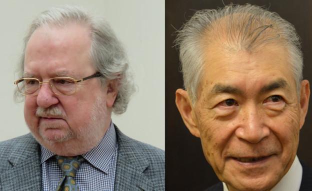 נובל רפואה 2018. הונג'ו (מימין) ואליסון (צילום: ויקיפדיה)