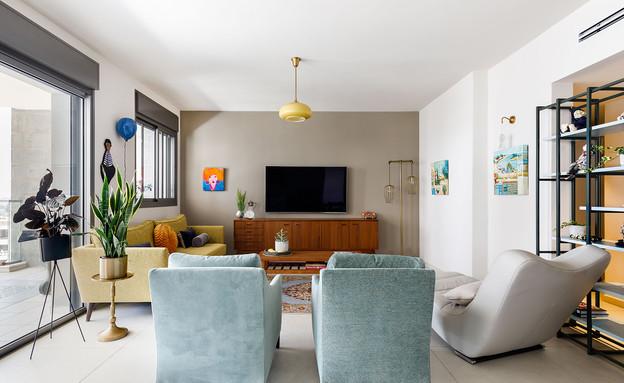 דירה בראשלצ, עיצוב מירב אייכלר - 4 (צילום: אורית ארנון)