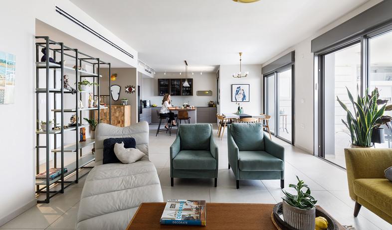 דירה בראשלצ, עיצוב מירב אייכלר - 12 (צילום: אורית ארנון)