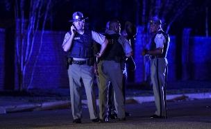 זירת הירי בפלורנס, דרום קרולינה (צילום: AP, חדשות)