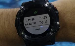 שעון גרמין Fenix 5X plus (צילום: אהוד קינן, NEXTER)