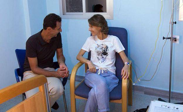 בשאר ואסמה לפני תחילת הטיפולים (צילום: SANA, חדשות)