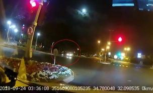 זירת התאונה הקטלנית (צילום: חדשות)