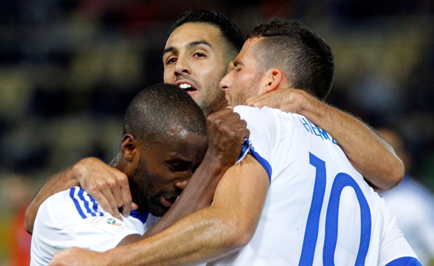 נבחרת ישראל בכדורגל, ארכיון (צילום: רויטרס, חדשות)