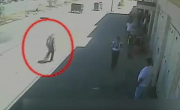 הירי בביתוניא ב-2014 (צילום: חדשות)