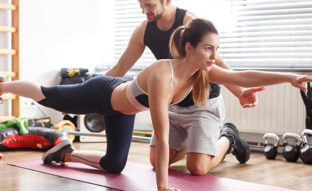 מאמן כושר (צילום: kateafter | Shutterstock.com )