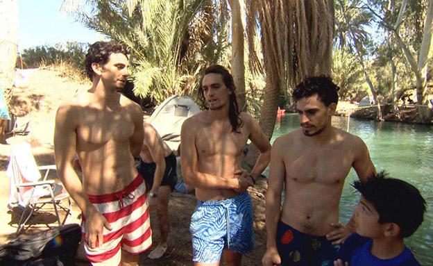 עם ישראל בעקבות האחים פרל (צילום: החדשות)