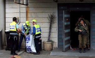 זירת הפיגוע בשומרון (צילום: רויטרס, חדשות)