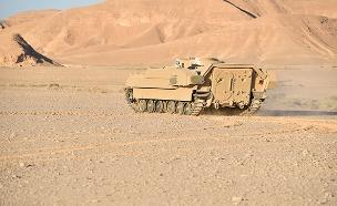 מערכת מעיל רוח לטנקים (צילום: רפאל, חדשות)