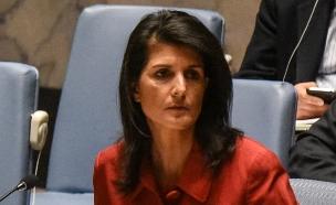 ניקי היילי, שגרירת ארצות הברית באום (צילום: רויטרס, חדשות)