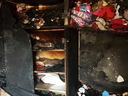 הדירה שנשרפה בביתר עילית