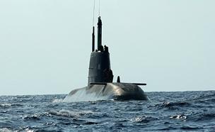 """הצוללת השישית לא תקרא """"דקר"""". ארכיון (צילום: משה שי/פלאש 90, חדשות)"""