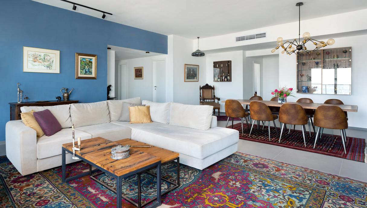 דירה בתל אביב, עיצוב חן שדמי