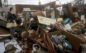 הוריקן מייקל (צילום: AP, חדשות)