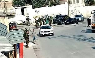 חיפושים אחר המחבל מהפיגוע בשומרון (צילום: חדשות)