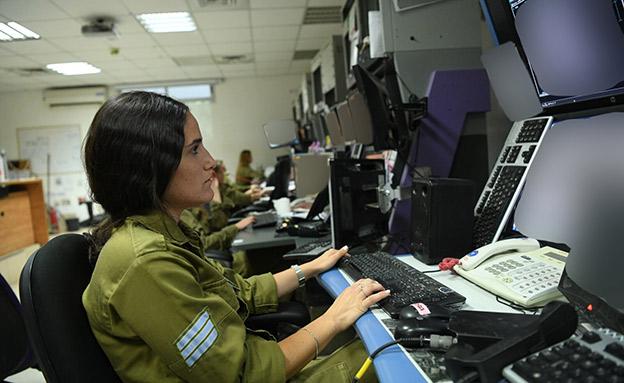 סמל עומר קפלן, תצפיתנית מגדוד ״נשר״ (צילום: דובר צה''ל, חדשות)
