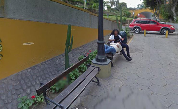 התמונה שחשפה את הבגידה (צילום: google maps, חדשות)
