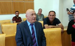 באסל גאטס בבית המשפט (צילום: חדשות 2)