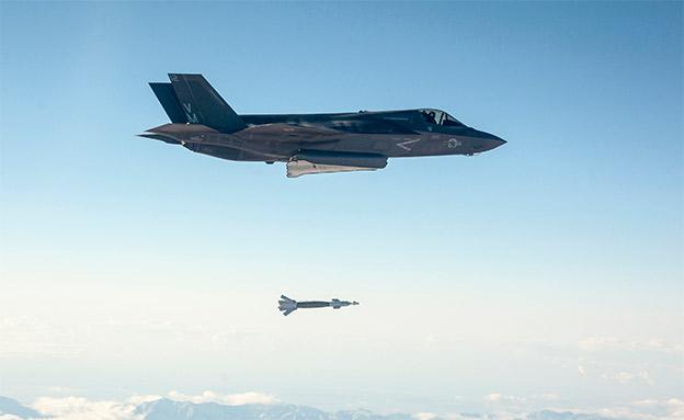 ה-F-35B במהלך טיסה (צילום: רויטרס, חדשות)